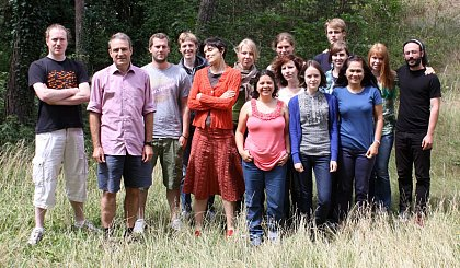 AG Paxton lab members, July 2015